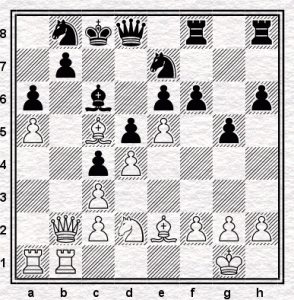 After black's 19th move