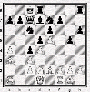 After black's 13th move