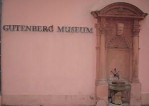 The Gutenberg museum in Mainz