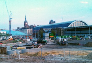 The back of St Pancras